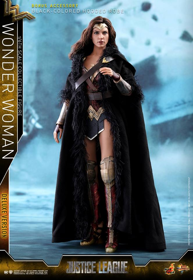 Pre-Order Hot Toys DC Comics Justice League Wonder Woman Deluxe