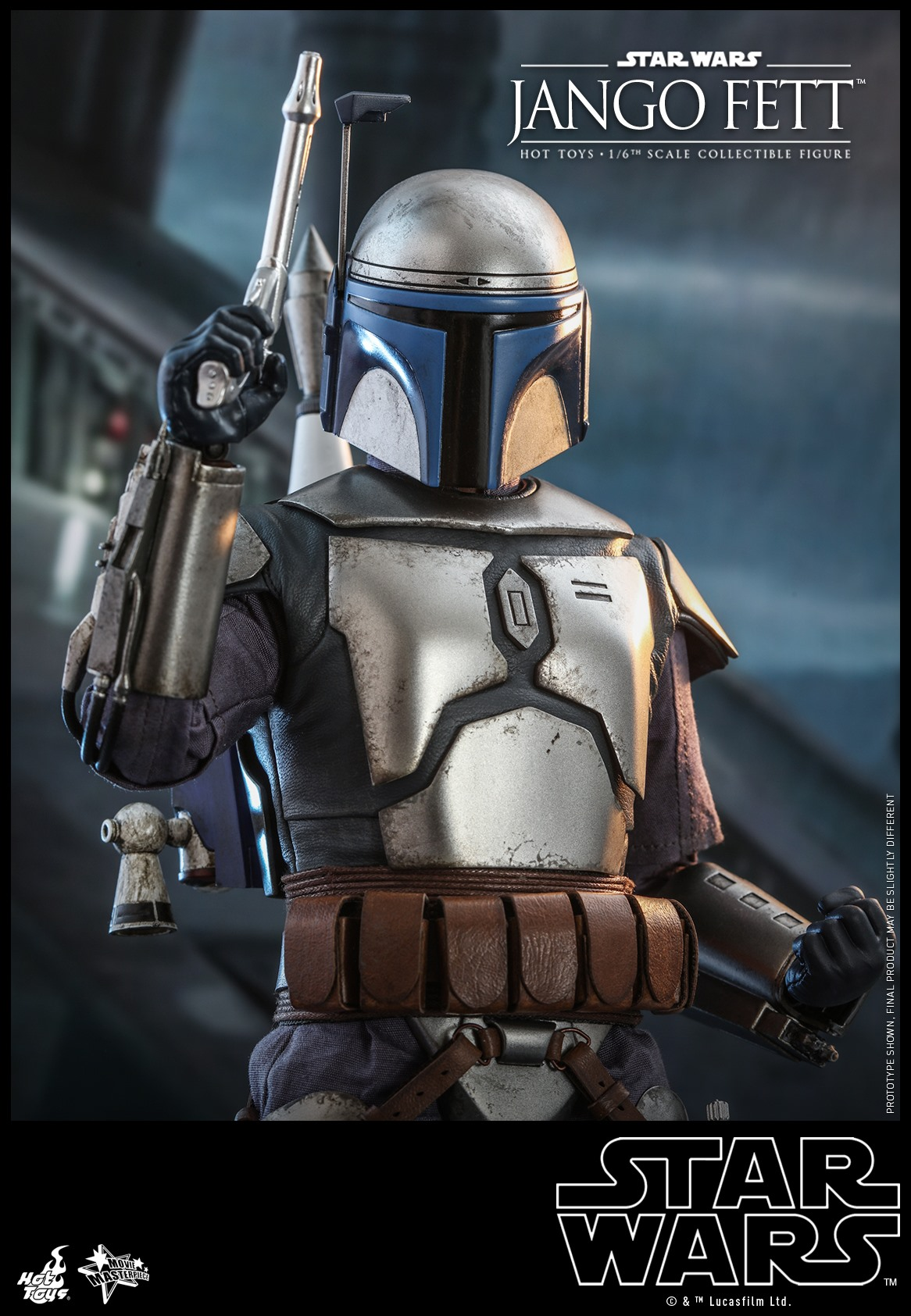 Pre-Order Hot Toys Star Wars Jango Fett Sixth Scale Figure
