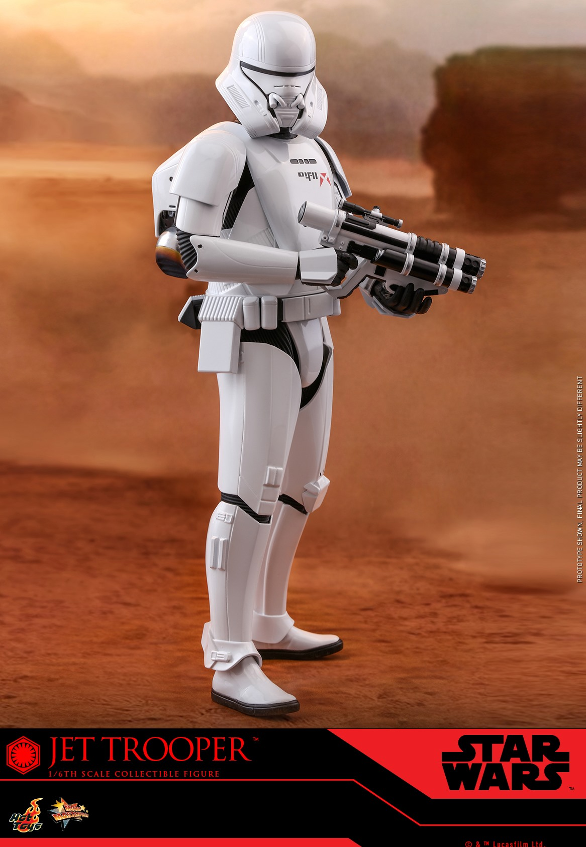 Pre-Order Hot Toys Star Wars Jet Trooper 1:6th Figure