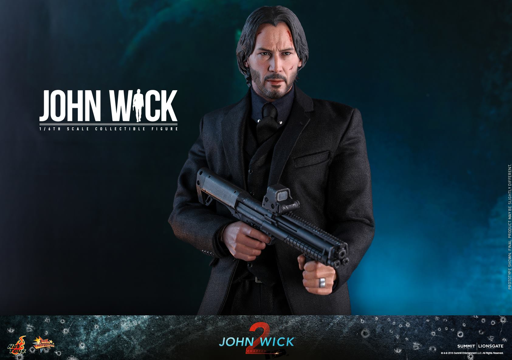 Pre-Order Hot Toys John Wick Sixth Scale Figure