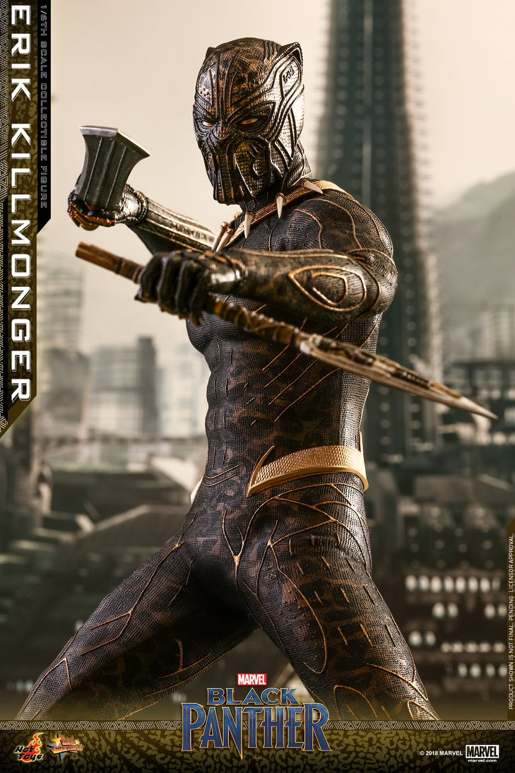 Pre-Order Hot Toys Marvel Black Panther Killmonger 1:6th Figure