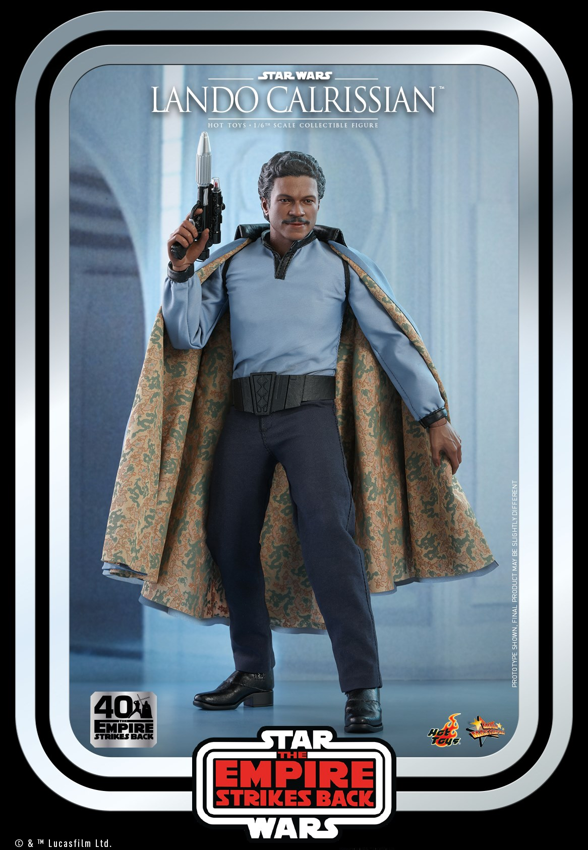 Pre-Order Hot Toys Star Wars Lando Calrissian 1:6th Figure