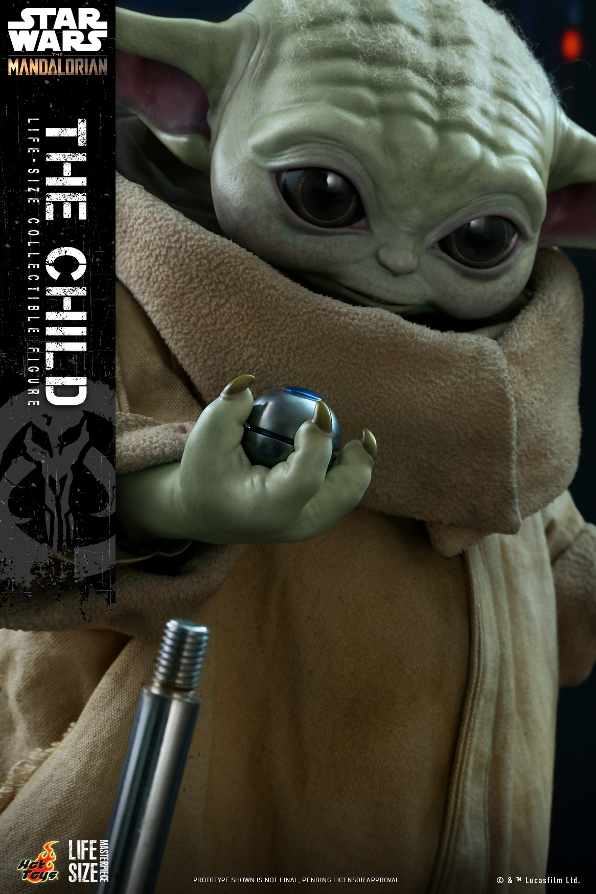 Pre-Order Hot Toys Star Wars The Child Life Size Figure