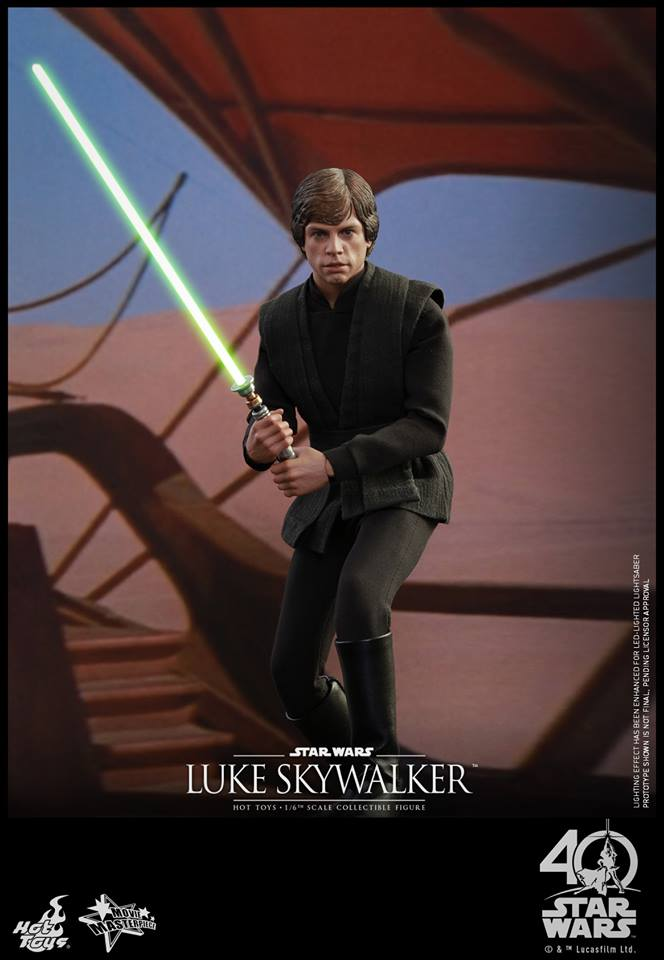 Hot Toys Star Wars Luke Skywalker Jedi Sixth Scale Figure