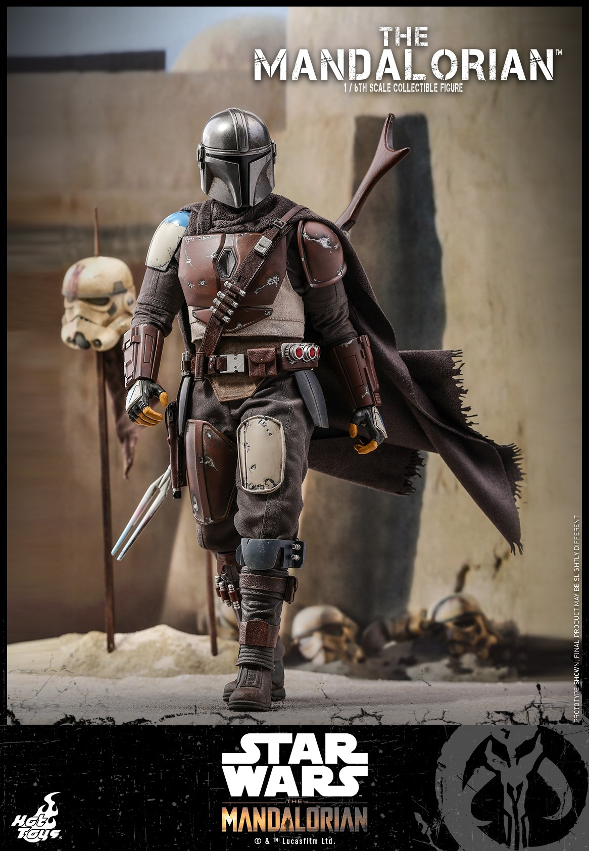 Pre-Order Hot Toys Star Wars The Mandalorian Sixth Scale Figure