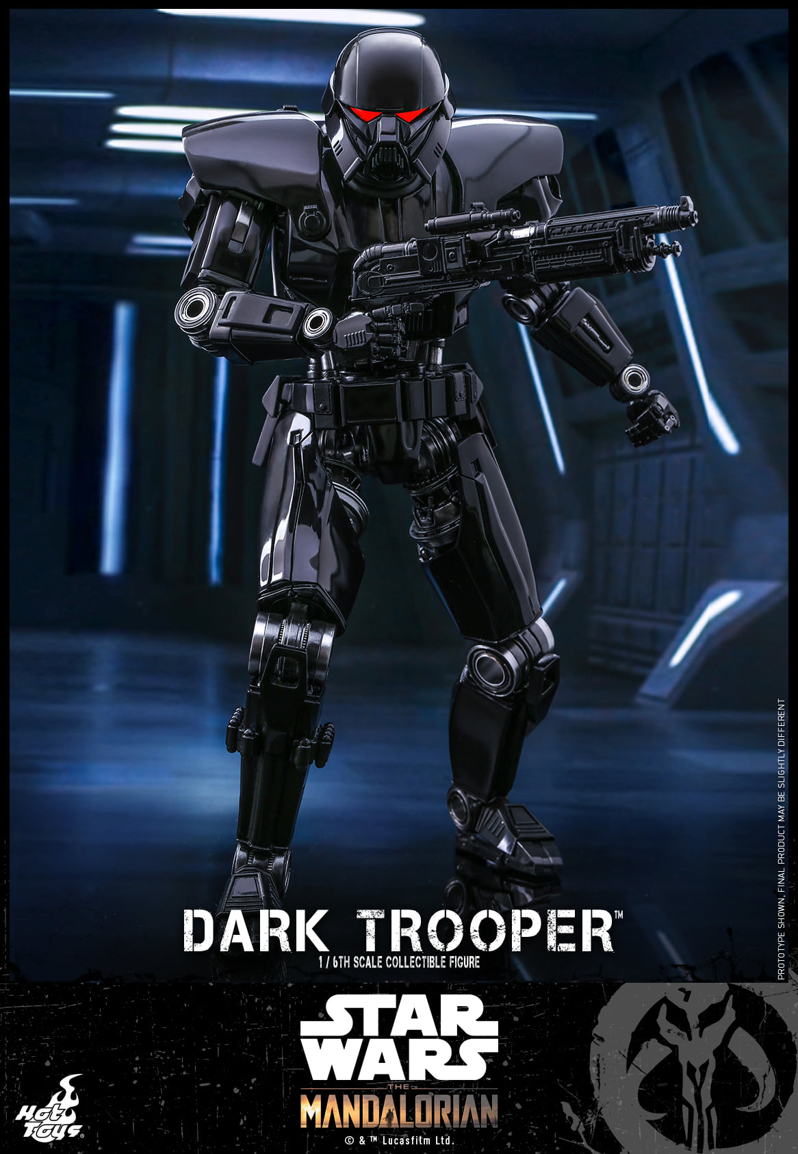 Pre-Order Hot Toys Star Wars The Mandalorian Dark Trooper Figure
