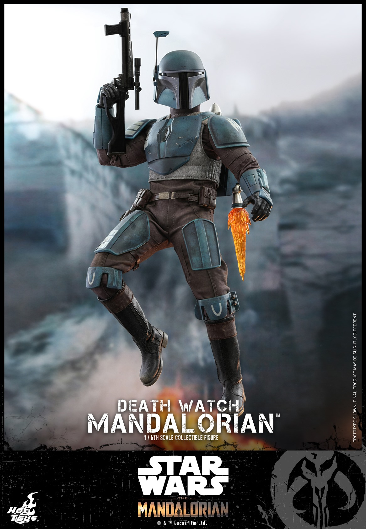 Pre-Order Hot Toys Star Wars Death Watch Mandalorian Figure