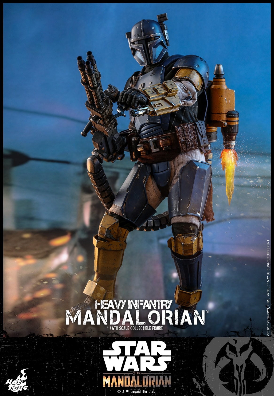 Pre-Order Hot Toys Star Wars The Mandalorian Heavy Infantry