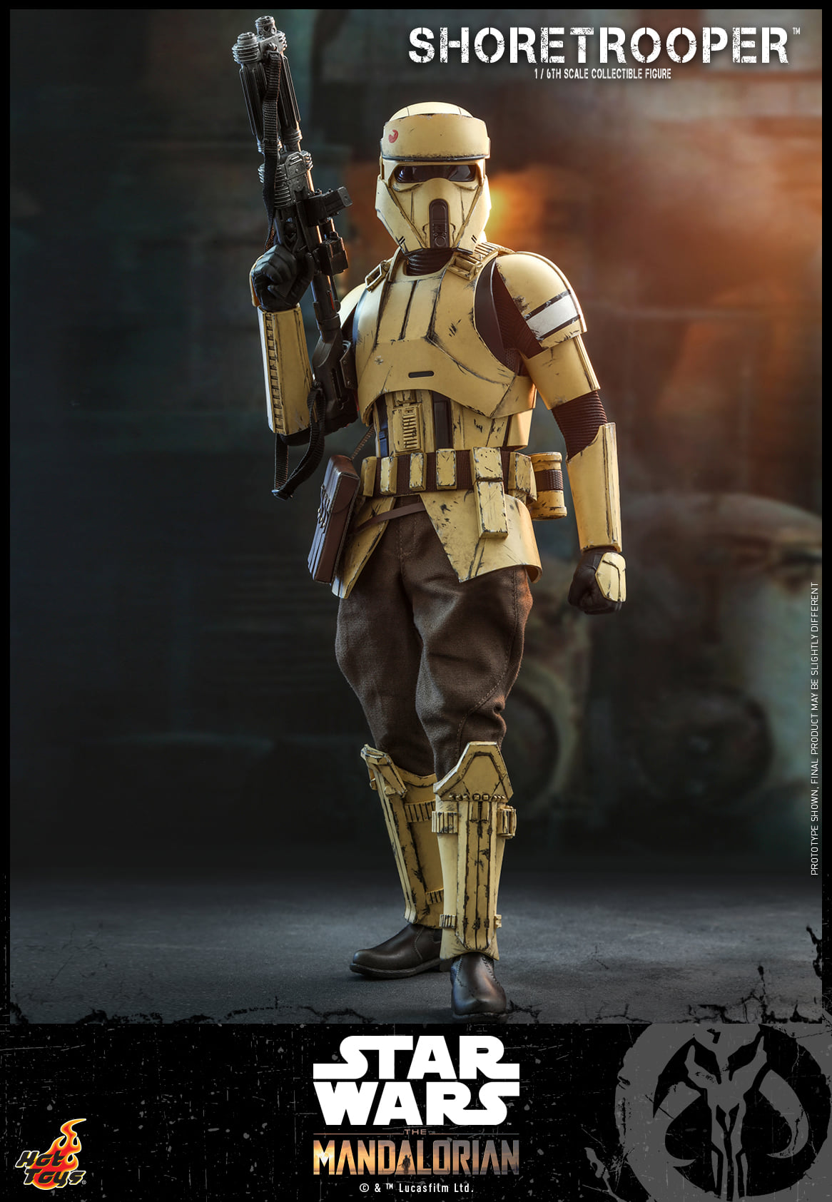 Pre-Order Hot Toys Star Wars Shoretrooper Mandalorian Figure