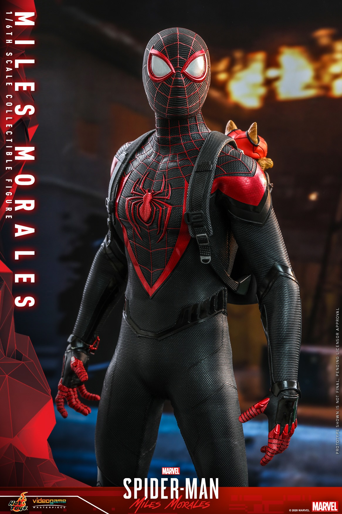 Pre-Order Hot Toys Marvel Miles Morales Spider-Man Figure