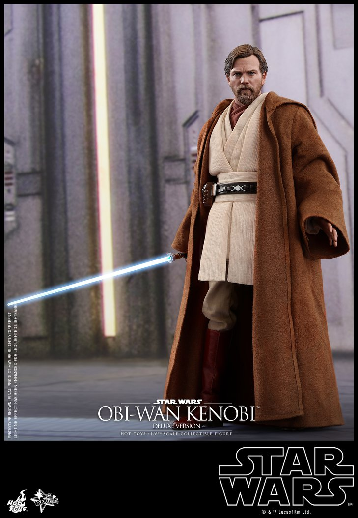 Hot Toys Star Wars Obi-Wan Kenobi Ep3 Sixth Scale Figure