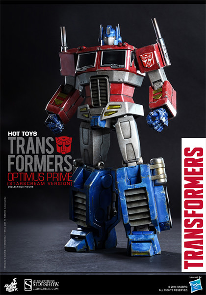 Hot Toys Transformers Optimus Prime (Starscream Version) Figure