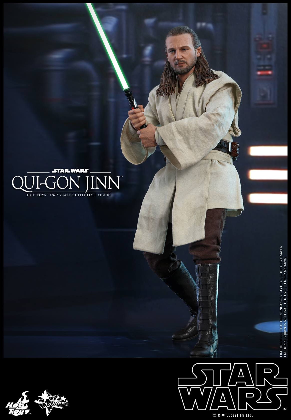 Pre-Order Hot Toys Star Wars Qui-Gon Jinn 1:6th Figure