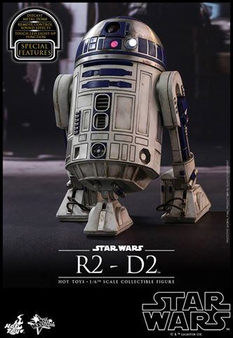 Hot Toys Star Wars R2-D2 Sixth Scale Figure