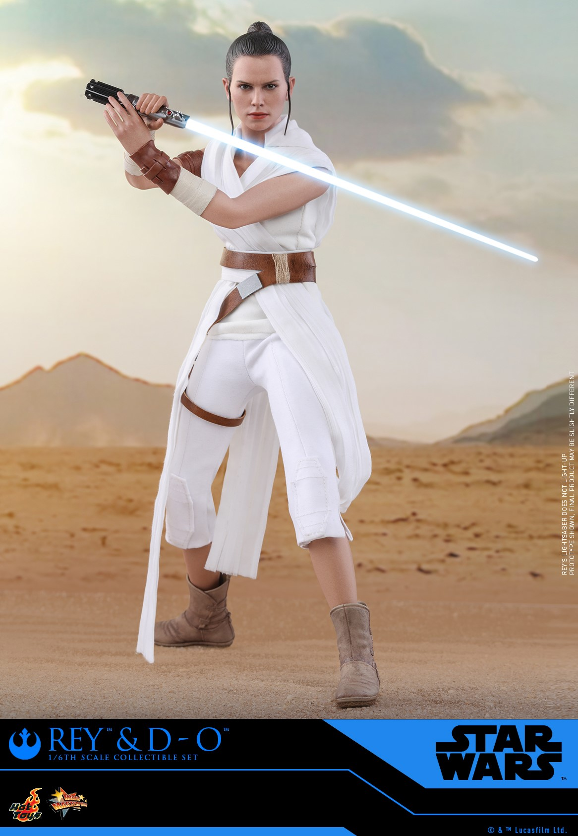 Pre-Order Hot Toys Star Wars Rey & D-O Figure Set