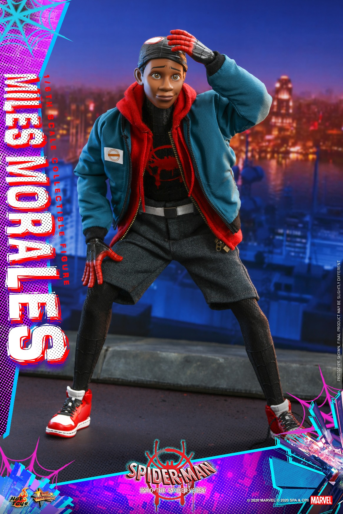 Pre-Order Hot Toys Marvel Into The Spider-Verse Miles Morales