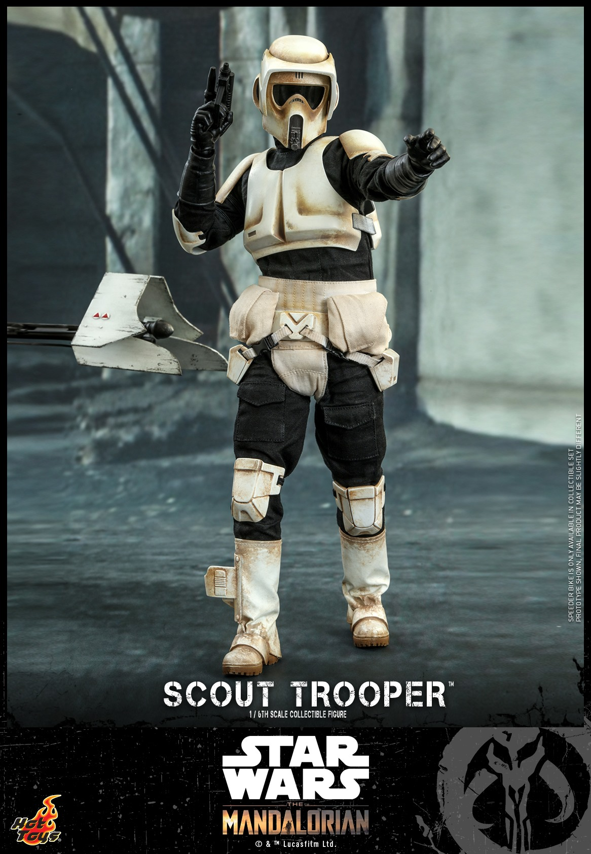 Pre-Order Hot Toys Star Wars Scout Trooper Figure