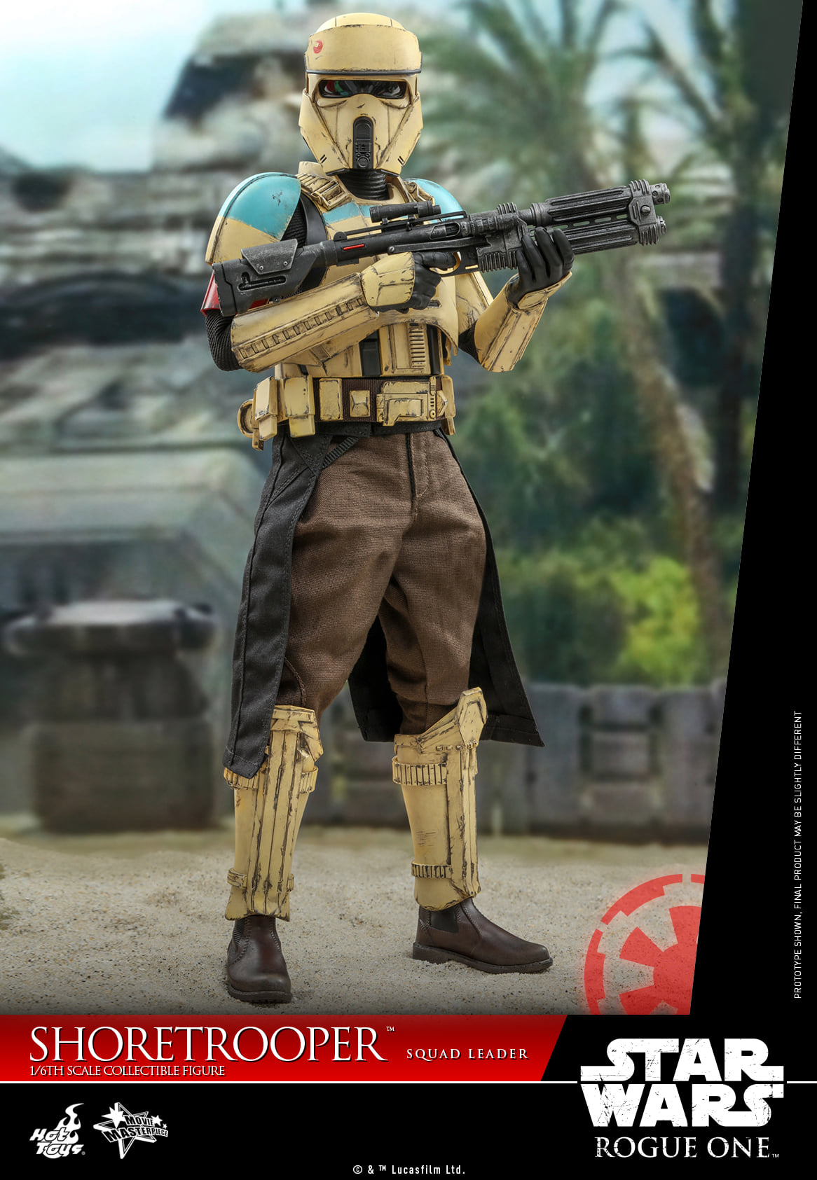 Pre-Order Hot Toys Star Wars Rogue One Shoretrooper Squad Leader