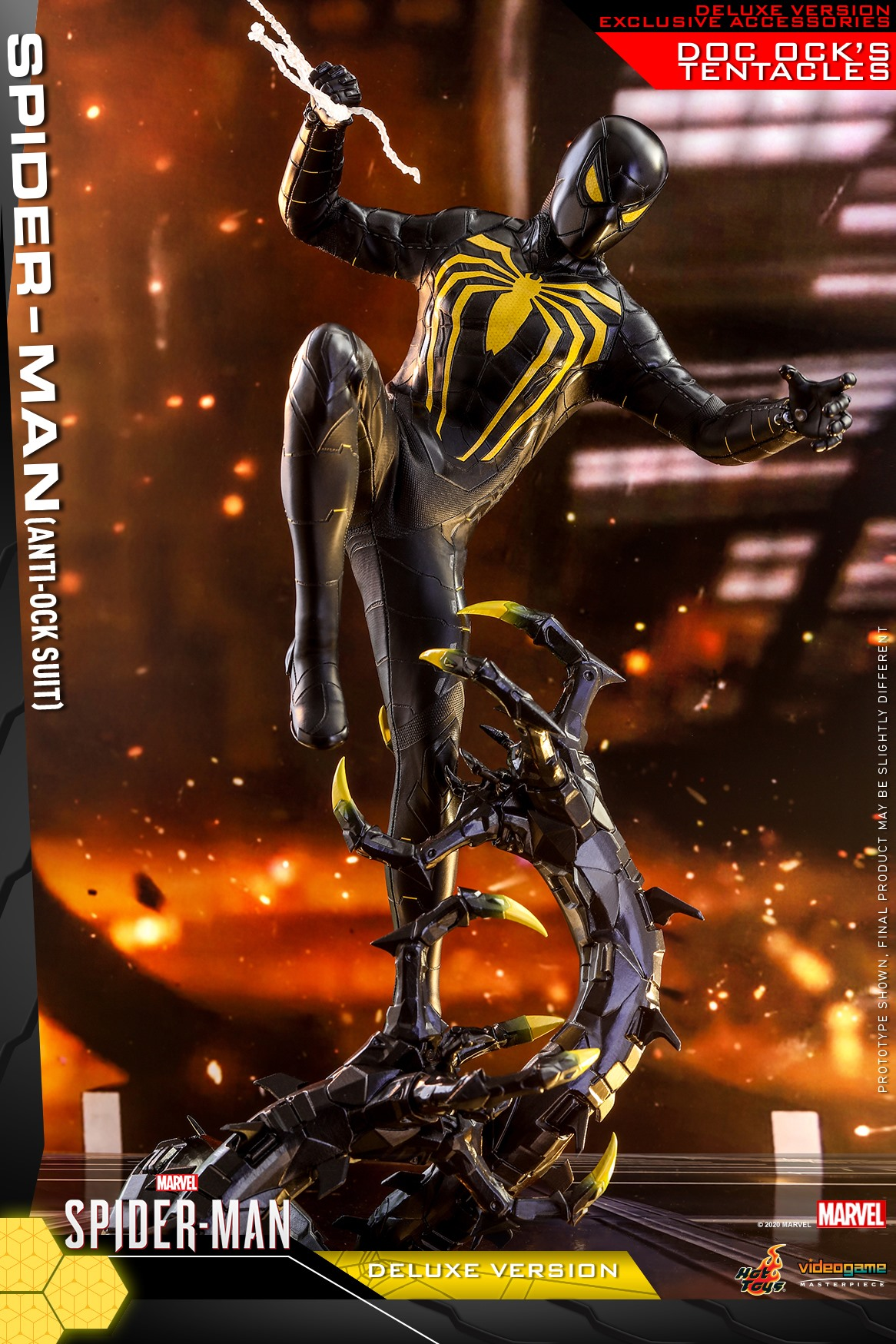 Pre-Order Hot Toys Marvel Spider-Man Anti-Ock Suit DLX Figure