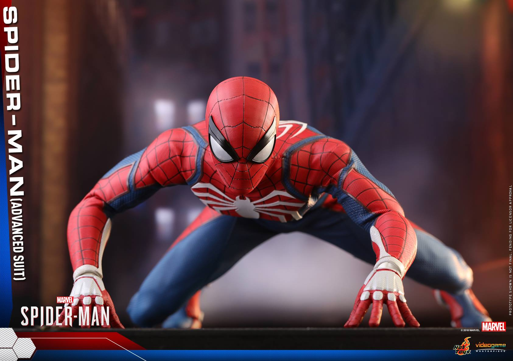 Pre-Order Hot Toys Marvel Spider-Man Advanced Suit Figure
