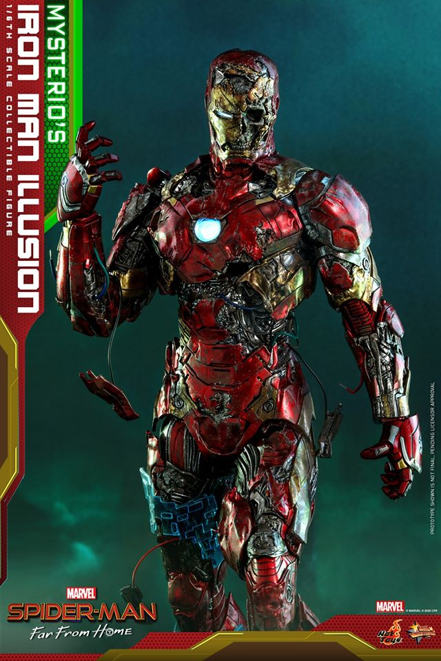 Pre-Order Hot Toys Mysterio's Iron Man Illusion Figure