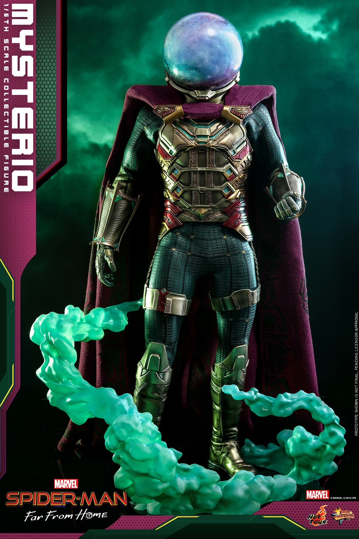 Pre-Order Hot Toys Marvel Spider-Man Far From Home Mysterio