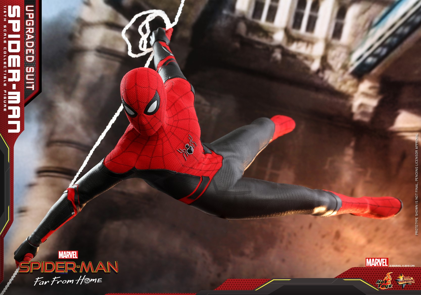 Pre-Order Hot Toys Marvel Spider-Man Far From Home Upgraded Suit