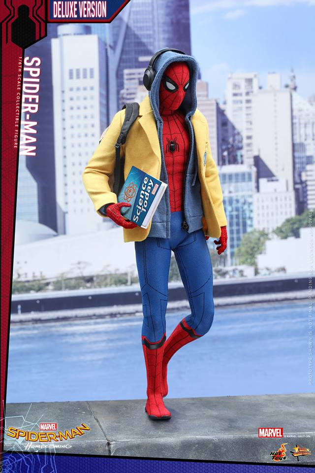 Pre-order Hot Toys Spider-Man Homecoming Deluxe 1:6th Figure