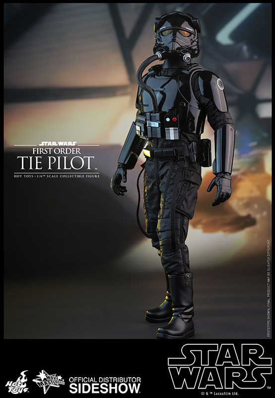 Hot Toys Star Wars First Order TIE Fighter Pilot Figure