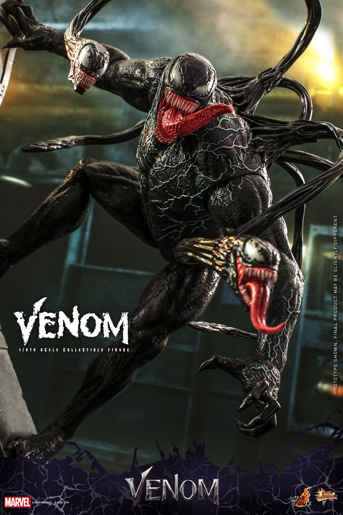 Pre-Order Hot Toys Marvel Venom Movie Sixth Scale Figure