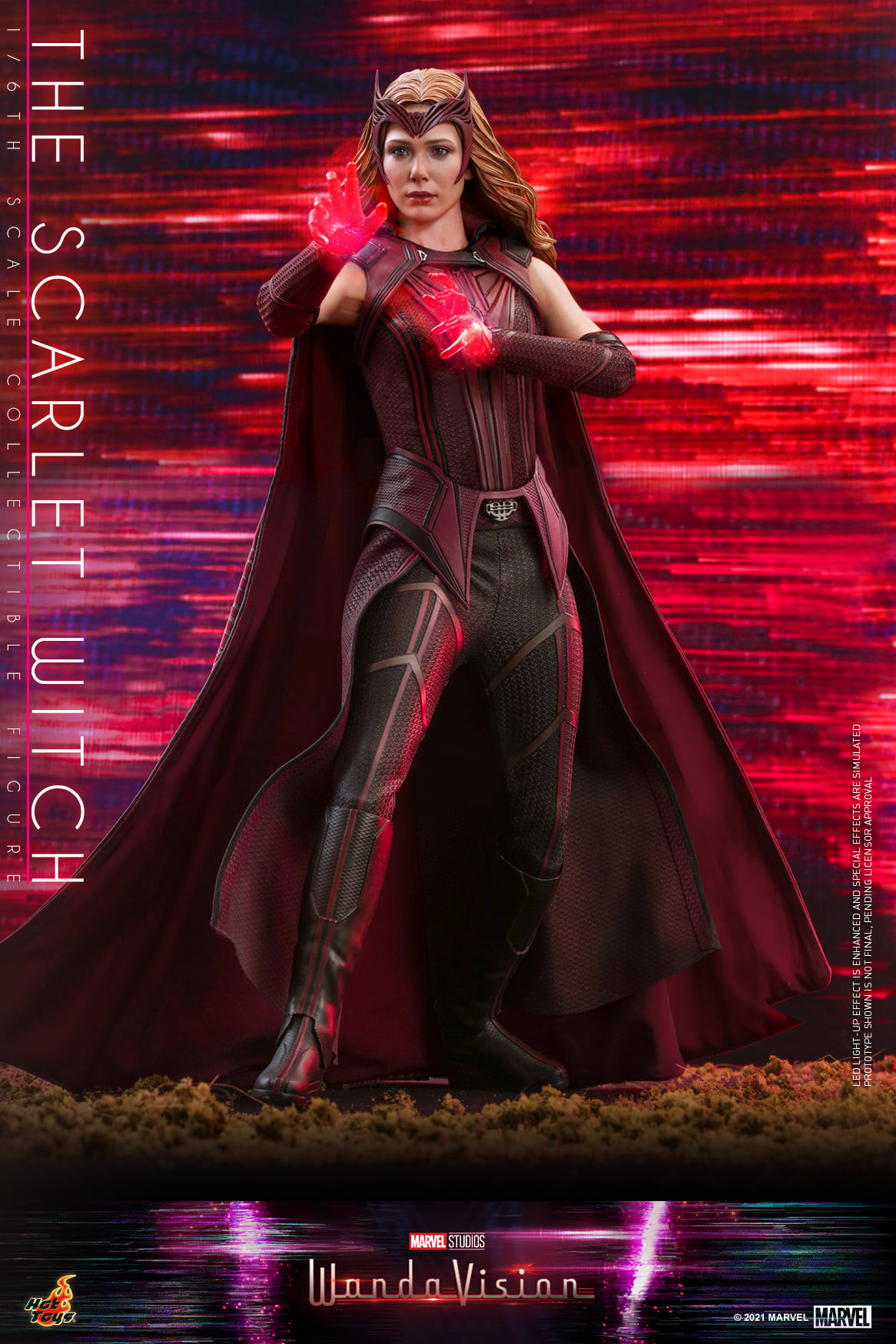 Pre-Order Hot Toys WandaVision Scarlet Witch Sixth Scale Figure