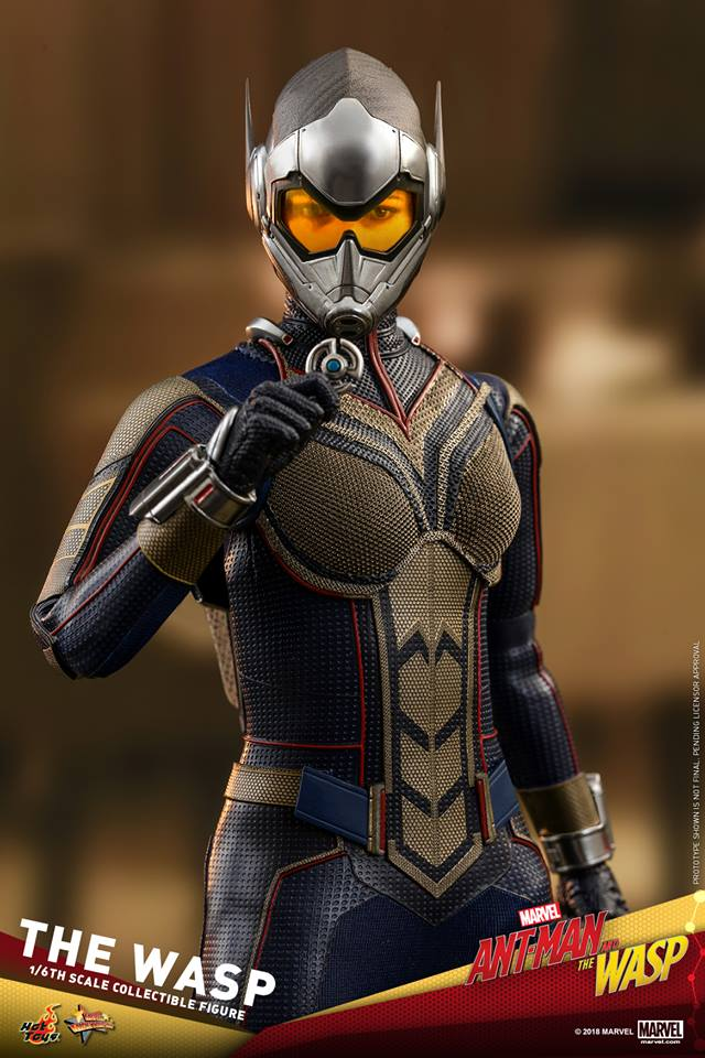 Pre-Order Hot Toys Marvel The Wasp Sixth Scale Figure