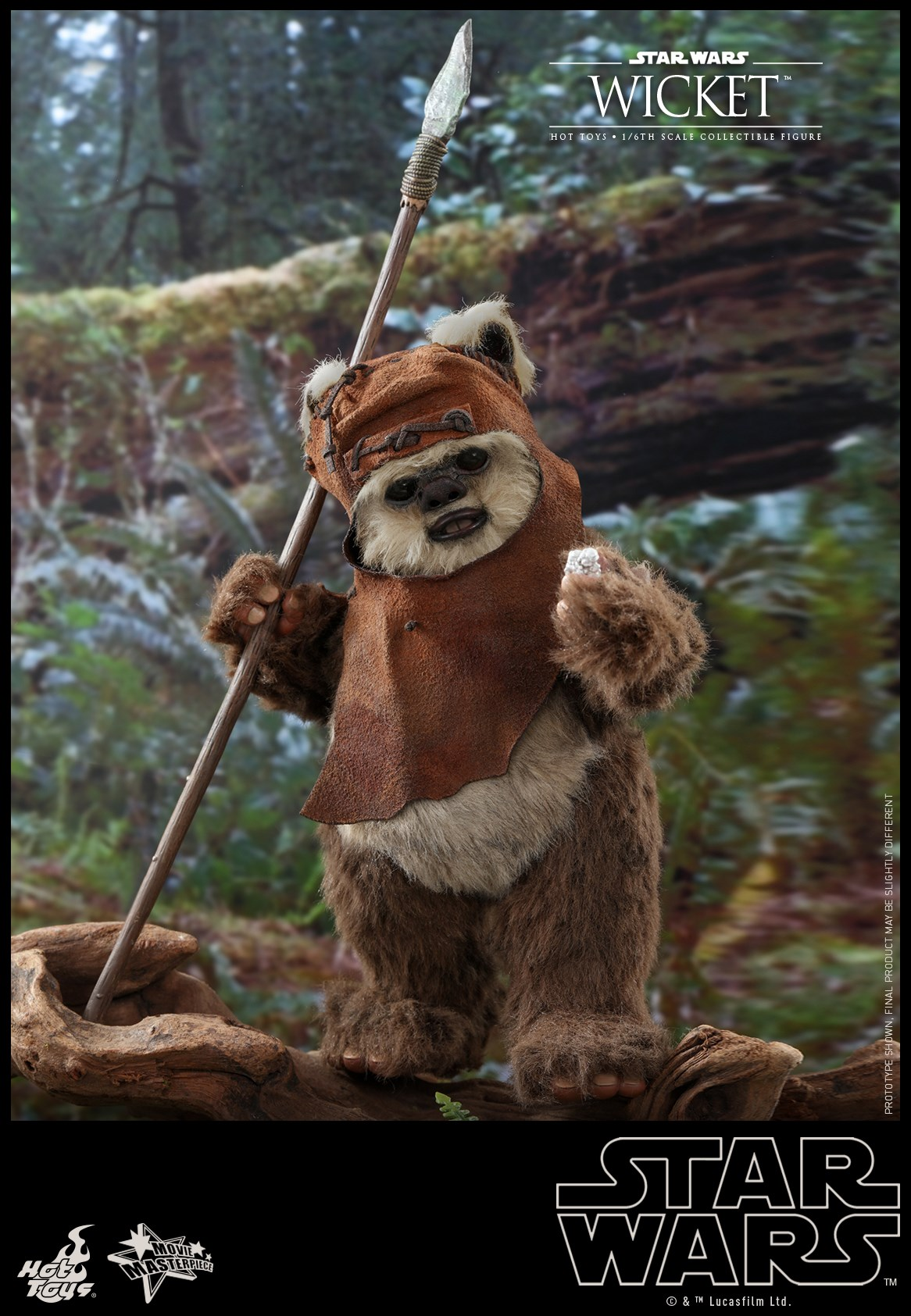 Pre-Order Hot Toys Star Wars Wicket Sixth Scale Figure