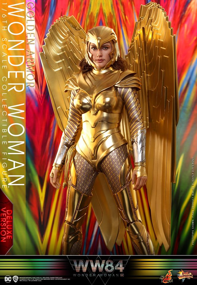 Pre-Order Hot Toys DC Comics Wonder Woman Golden Armor Deluxe