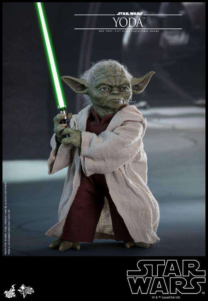 Hot Toys Star Wars Yoda Episode 2 Sixth Scale Figure