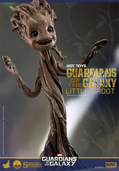 Hot Toys Marvel Guardians of the Galaxy Little Groot Figure