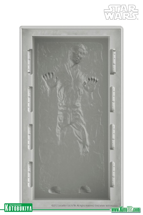 Kotobukiya Star Wars Han Solo In Carbonite DX Ice Tray