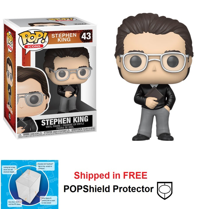 Funko POP Icons Stephen King Figure - #43