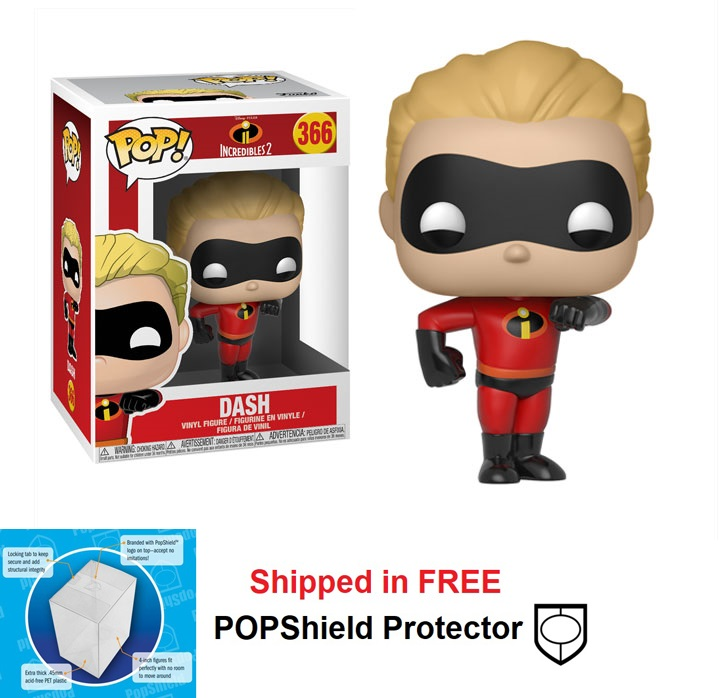 Funko POP Disney Incredibles 2 Dash Figure - #366