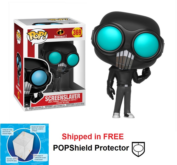 Funko POP Disney Incredibles 2 Screenslaver Figure - #369