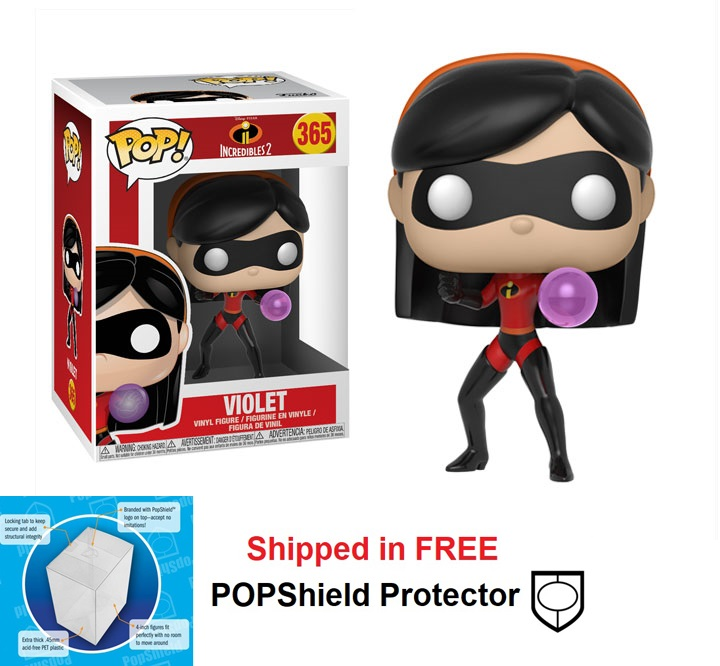 Funko POP Disney Incredibles 2 Violet Figure - #365