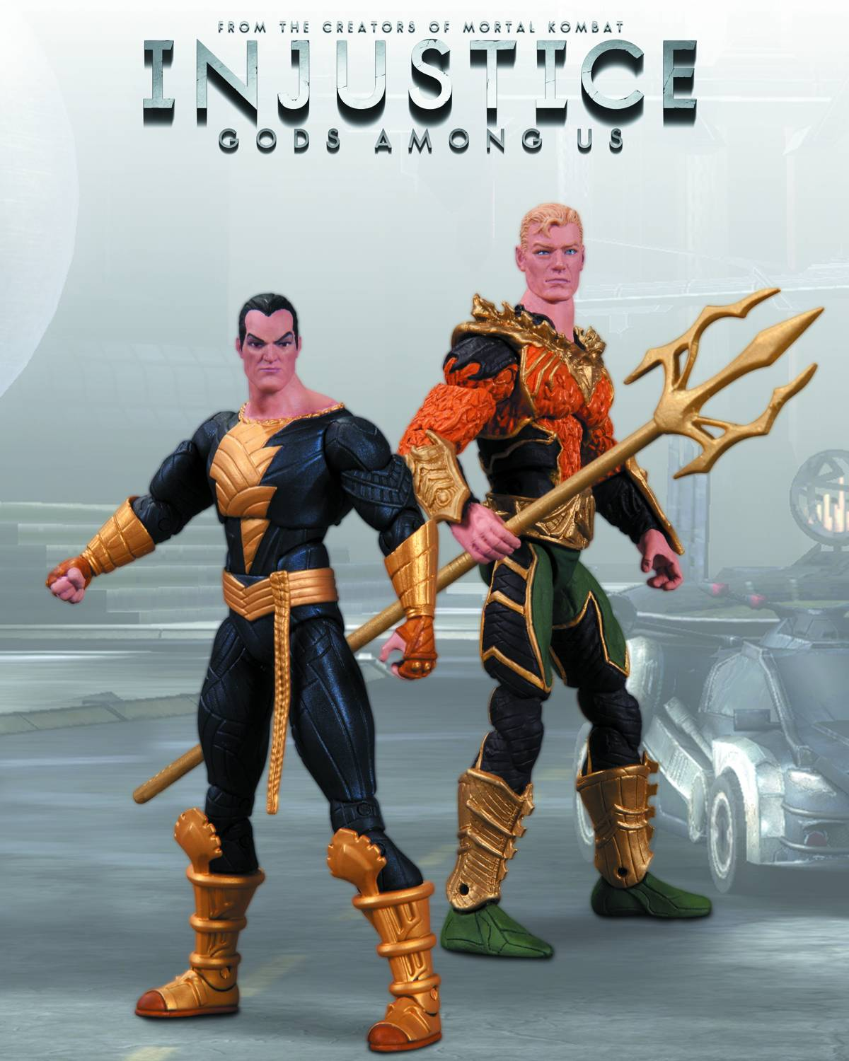 DC Comics Injustice Aquaman vs Black Adam Figure Set