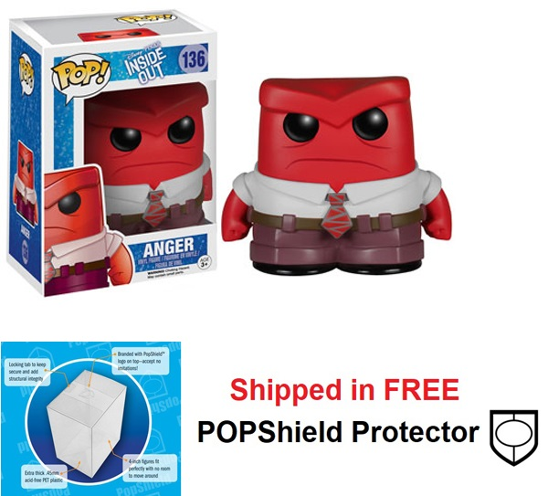 Funko POP Disney Inside Out Anger Figure - #136