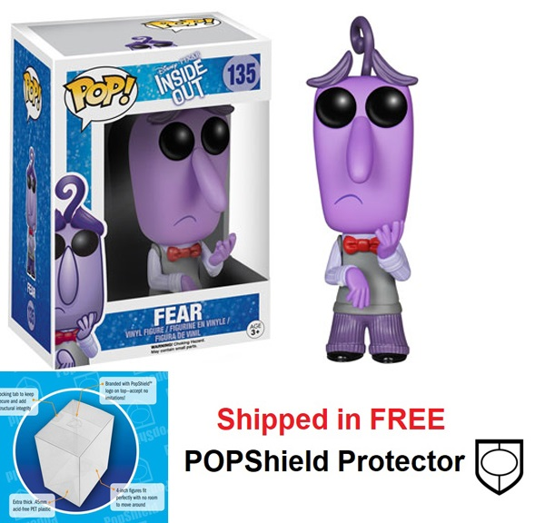 Funko POP Disney Inside Out Fear Figure - #135