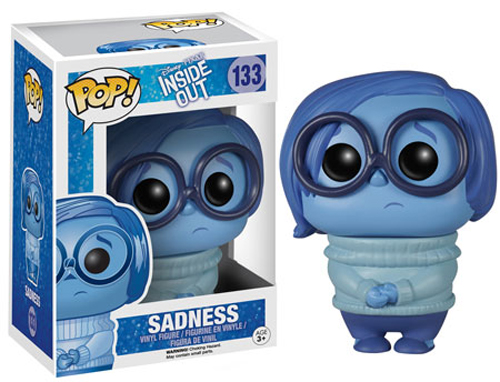Funko POP Disney Inside Out Sadness Figure - #133