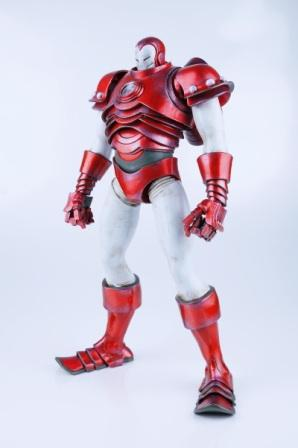 ThreeA Marvel Iron Man Silver Centurion 1:6 Scale Figure