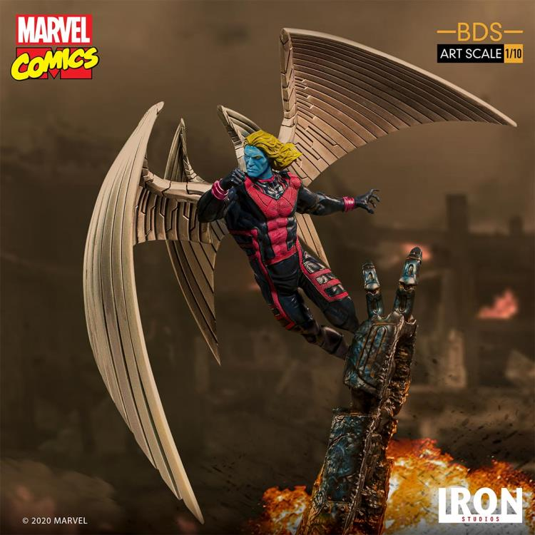 Pre-Order Iron Studios Marvel Archangel Art Scale Statue