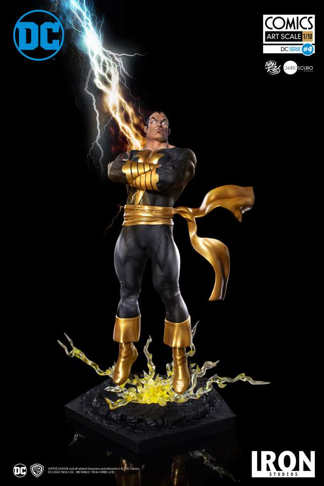 Pre-Order Iron Studios DC Comics Black Adam Art Scale Statue
