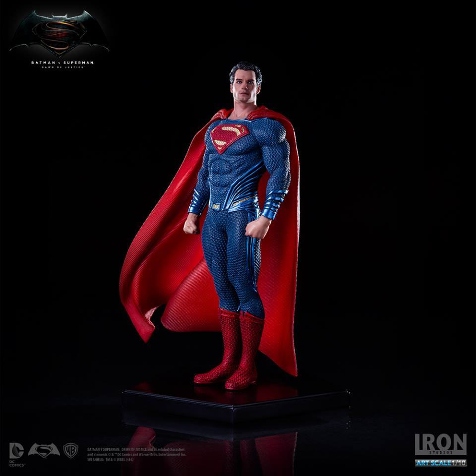 Iron Studios DC Comics BvS Superman 1/10th Scale Statue