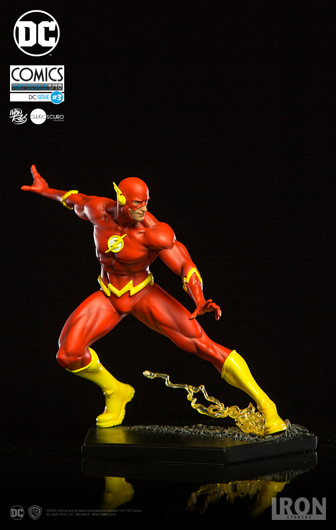 Iron Studios DC Comics Flash 1/10th Art Statue